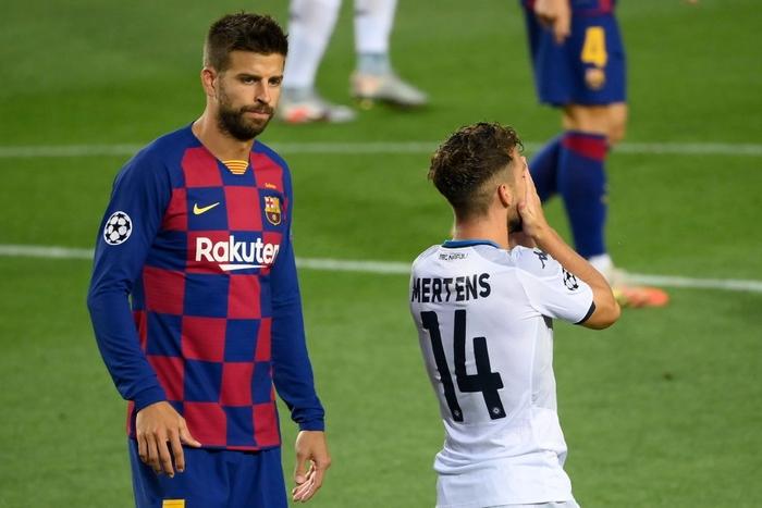 Messi tỏa sáng với khoảnh khắc thiên tài, giúp Barca tiến bước vào vòng tứ kết Champions League - Ảnh 2.