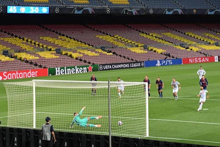 Messi tỏa sáng với khoảnh khắc thiên tài, giúp Barca tiến bước vào vòng tứ kết Champions League - Ảnh 7.