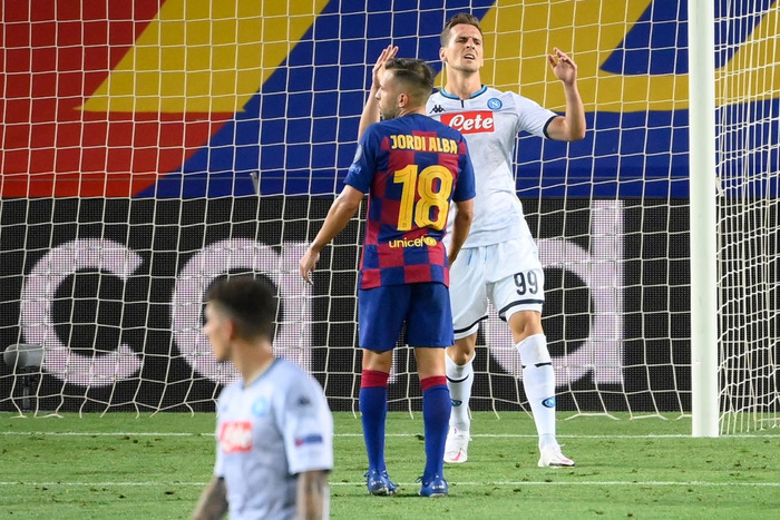 Messi tỏa sáng với khoảnh khắc thiên tài, giúp Barca tiến bước vào vòng tứ kết Champions League - Ảnh 10.