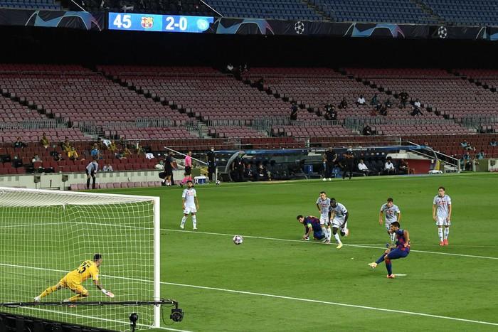Messi tỏa sáng với khoảnh khắc thiên tài, giúp Barca tiến bước vào vòng tứ kết Champions League - Ảnh 6.