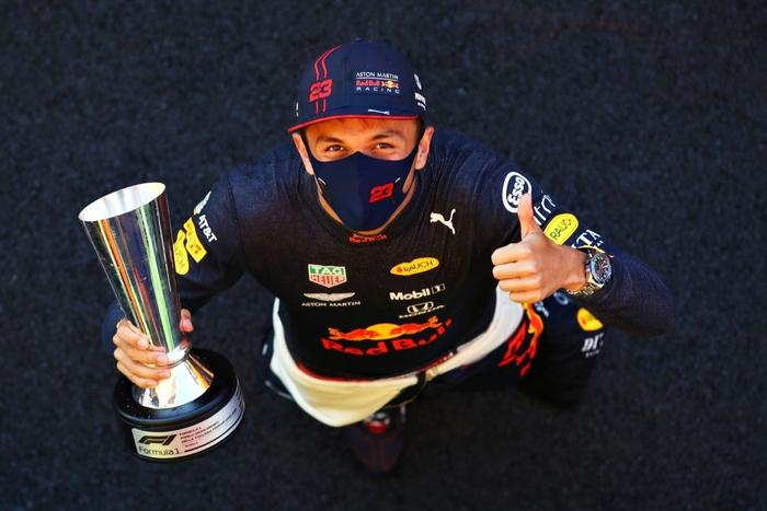 Tay đua Thái Lan tạo nên cột mốc lịch sử trên đường đua F1 - ảnh 1