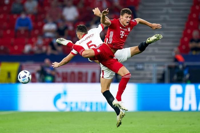 Bayern Munich giành Siêu cúp châu Âu nhờ bàn thắng vàng ở hiệp phụ - Ảnh 3.