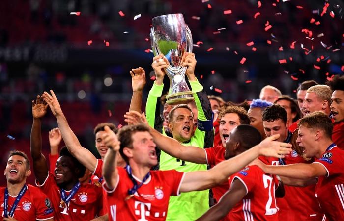Bayern Munich giành Siêu cúp châu Âu nhờ bàn thắng vàng ở hiệp phụ - Ảnh 1.