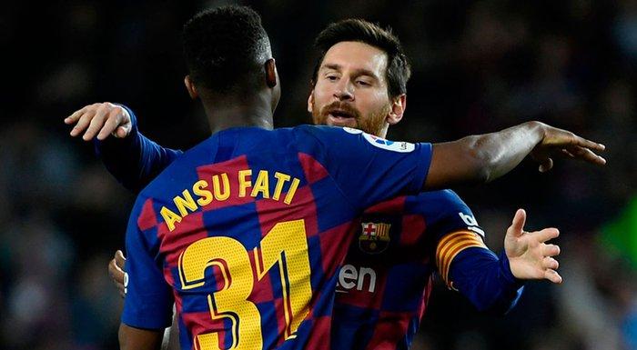 Ansu Fati và câu chuyện cổ tích về cậu bé đến từ nơi nghèo nhất thế giới trở thành người kế nhiệm Messi - Ảnh 3.