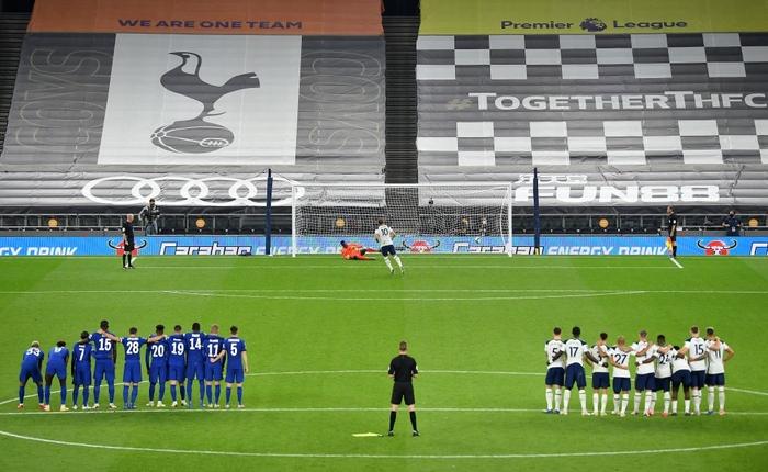Mourinho cho tất cả ăn thịt lừa, Tottenham thắng kịch tính Chelsea để vào tứ kết cúp Liên đoàn Anh - ảnh 7