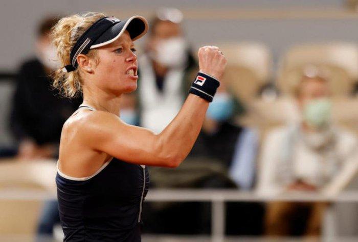 Tay vợt nữ người Đức bị chửi rủa thậm tệ vì tình huống siêu nhạy cảm trên sân - Ảnh 2.