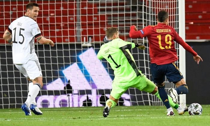 Tuyển Đức nhận bàn thua đúng phút bù giờ cuối, tiếc nuối để Tây Ban Nha cầm hòa - Ảnh 3.