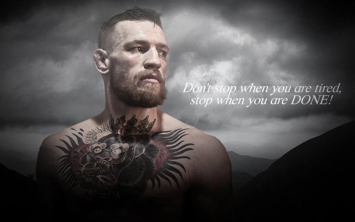 'Gã điên' Conor McGregor và những chuyện chưa kể trong hành trình chạm đến vinh quang - Ảnh 1.