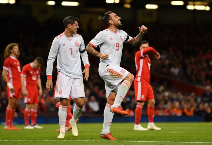 Đồng đội cũ của Messi tỏa sáng, Tây Ban Nha hủy diệt xứ Wales 4-1 - Ảnh 4.