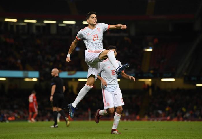 Đồng đội cũ của Messi tỏa sáng, Tây Ban Nha hủy diệt xứ Wales 4-1 - Ảnh 6.