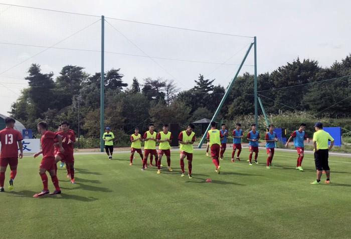 U17 Việt Nam được tập trên sân tập của đội tuyển Argentina, sẵn sàng chinh phục giải Jenesys 2018 - Ảnh 2.