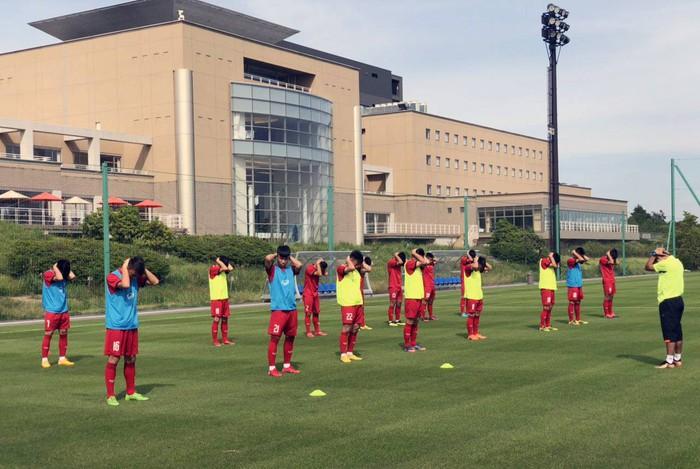 U17 Việt Nam được tập trên sân tập của đội tuyển Argentina, sẵn sàng chinh phục giải Jenesys 2018 - Ảnh 1.