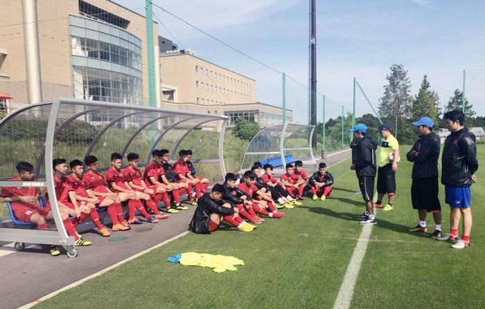 U17 Việt Nam được tập trên sân tập của đội tuyển Argentina, sẵn sàng chinh phục giải Jenesys 2018 - Ảnh 4.