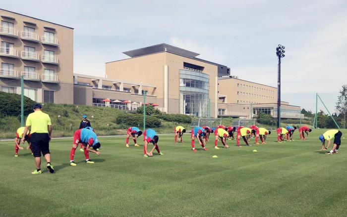 U17 Việt Nam được tập trên sân tập của đội tuyển Argentina, sẵn sàng chinh phục giải Jenesys 2018 - Ảnh 7.