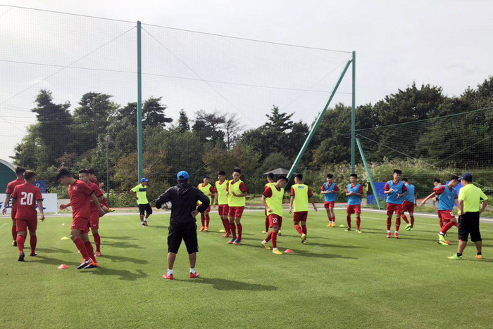 U17 Việt Nam được tập trên sân tập của đội tuyển Argentina, sẵn sàng chinh phục giải Jenesys 2018 - Ảnh 3.