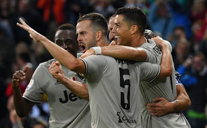 Quay cuồng trong nghi án, Ronaldo vẫn lập công giúp Juve chiến thắng - Ảnh 6.