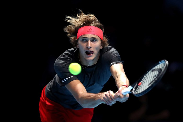 Hạ cả Federer và Djokovic, tài năng trẻ người Đức làm điều không tưởng để đăng quang ATP Finals - Ảnh 6.