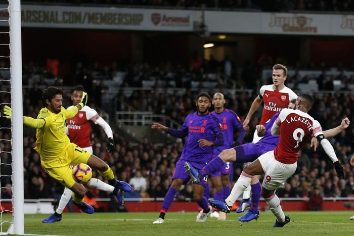 Arsenal chia điểm với Liverpool trong trận đại chiến đầy kịch tính - Ảnh 5.