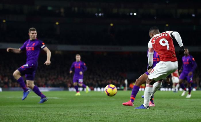 Arsenal chia điểm với Liverpool trong trận đại chiến đầy kịch tính - Ảnh 8.