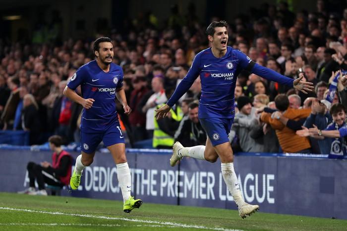Điệu đà không cần thiết, Morata bỏ lỡ cơ hội mười mươi để lập hat-trick cho Chelsea - Ảnh 2.