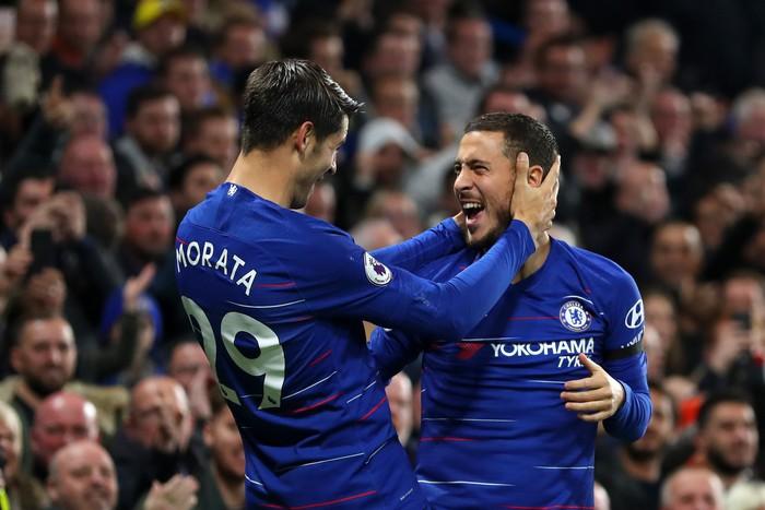Điệu đà không cần thiết, Morata bỏ lỡ cơ hội mười mươi để lập hat-trick cho Chelsea - Ảnh 7.