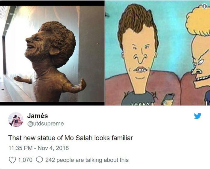 Chết cười với bức tượng xấu tệ của Salah được fan cứng người Ai Cập chế tạo - Ảnh 5.