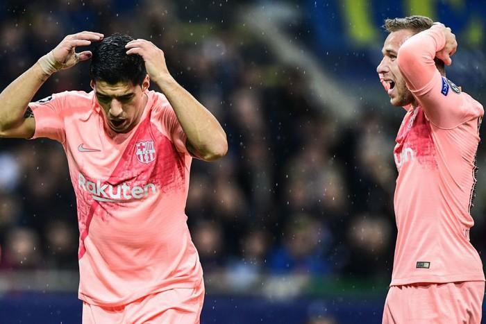 Hàng ăn cướp lập công, Barca không Messi vẫn mất điểm trên đất Italy - Ảnh 1.