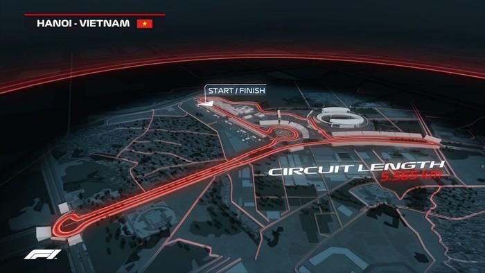 Hé lộ những hình ảnh phối cảnh đầu tiên về đường đua F1 tại Hà Nội - Ảnh 2.