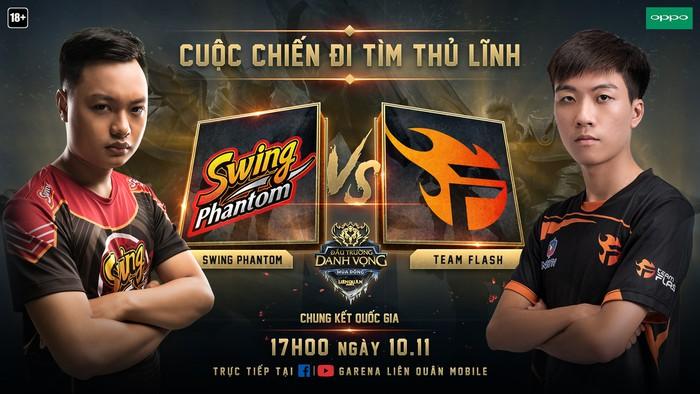 [Điểm tin Esports ngày 9/11] Team Flash vs Swing Phantom: Ai sẽ là đội lên ngôi vô địch ĐTDV và sở hữu 600 triệu tiền thưởng? - Ảnh 1.