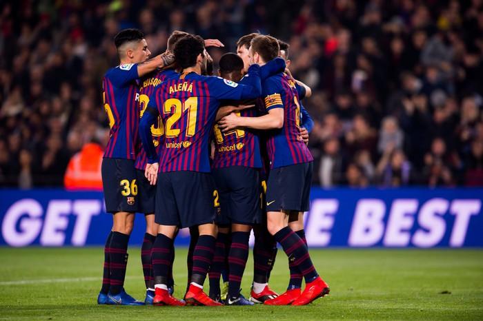 Chơi đội hình B, Barcelona vẫn dễ dàng có chiến thắng 4 sao - Ảnh 2.
