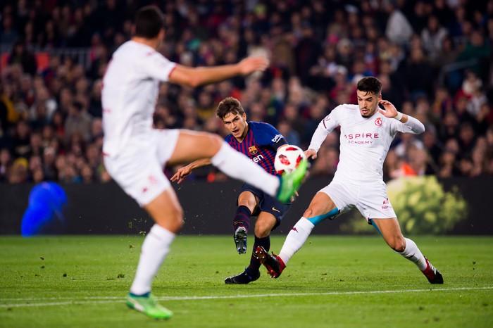 Chơi đội hình B, Barcelona vẫn dễ dàng có chiến thắng 4 sao - Ảnh 3.