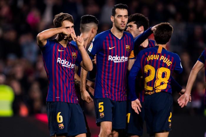 Chơi đội hình B, Barcelona vẫn dễ dàng có chiến thắng 4 sao - Ảnh 5.