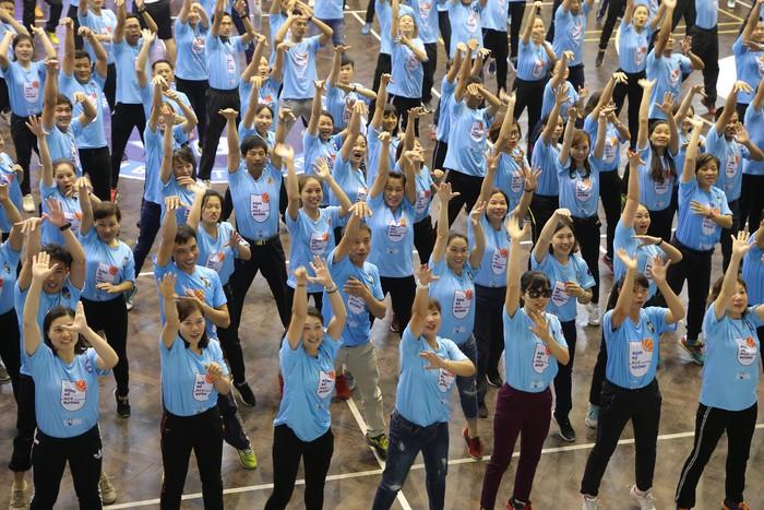 Chương trình Tập huấn phát triển bóng rổ học đường có mặt tại Hà Nội, thu hút sự tham gia của hàng nghìn giáo viên - Ảnh 1.