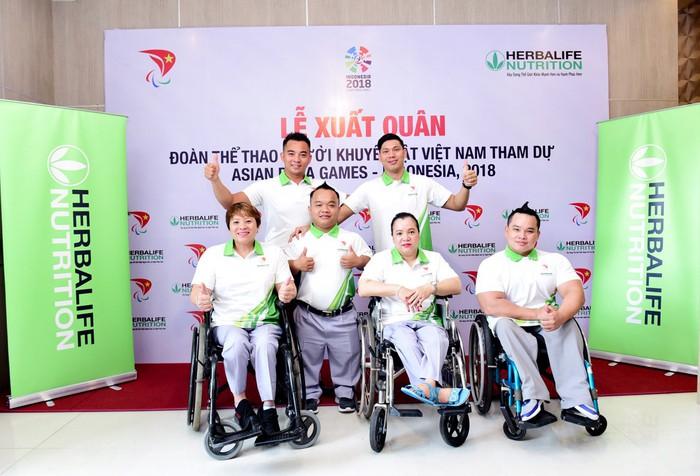 Đoàn TT người khuyết tật Việt Nam xuất quân tham dự Asian Para Games 2018 - Ảnh 1.