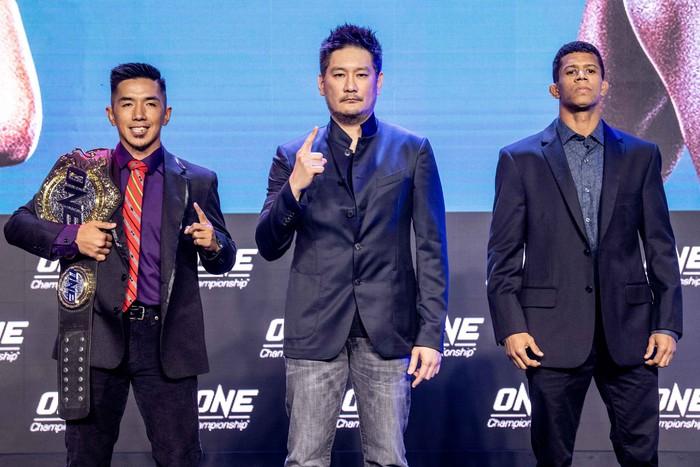Eustaquio và Moraes chính thức chạm mặt trước thềm sự kiện đầu tiên trong năm của ONE Championship - Ảnh 1.