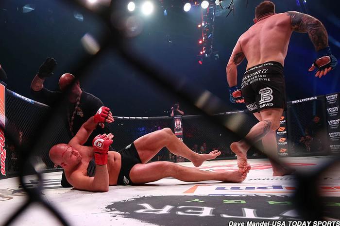 Hạ gọn huyền thoại võ thuật nước Nga, Ryan Bader lập thành tích chưa từng có tại giải MMA lớn thứ hai thế giới - Ảnh 7.