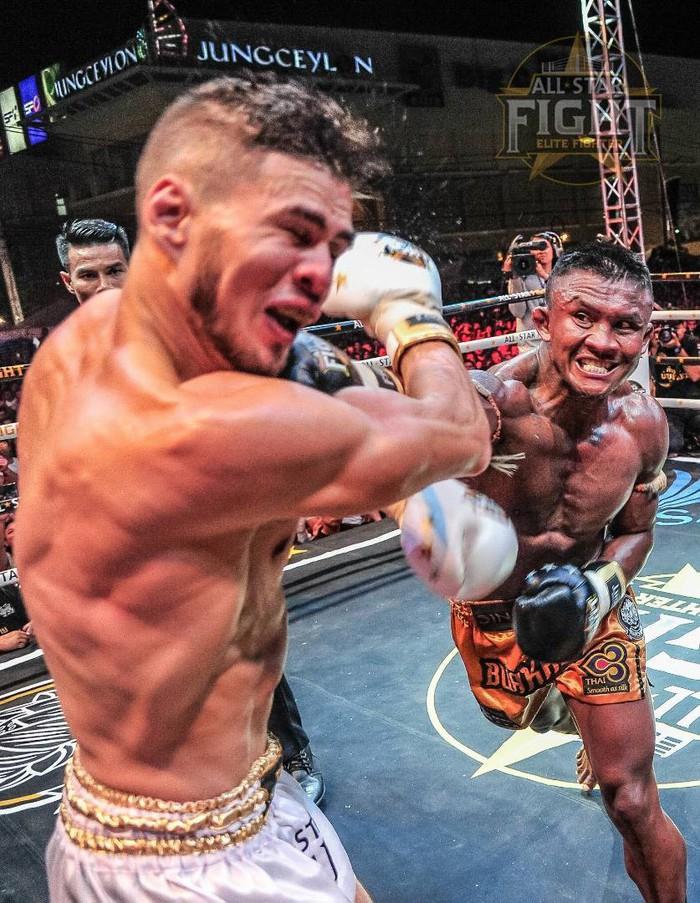Khiêu khích Thánh Muay Buakaw, nhà vô địch châu Âu nhận cái kết đắng - Ảnh 7.
