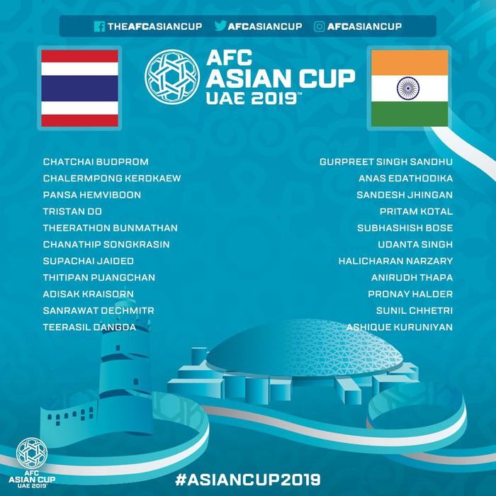 Tung đủ binh hùng tướng mạnh, Thái Lan vẫn thua sốc 1-4 trước đội xếp thứ 97 thế giới trong ngày ra quân tại Asian Cup 2019 - Ảnh 2.