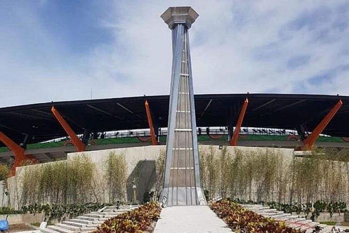 Choáng váng trước ngọn đài lửa triệu đô của nước chủ nhà Philippines tại SEA Games 30 - Ảnh 1.