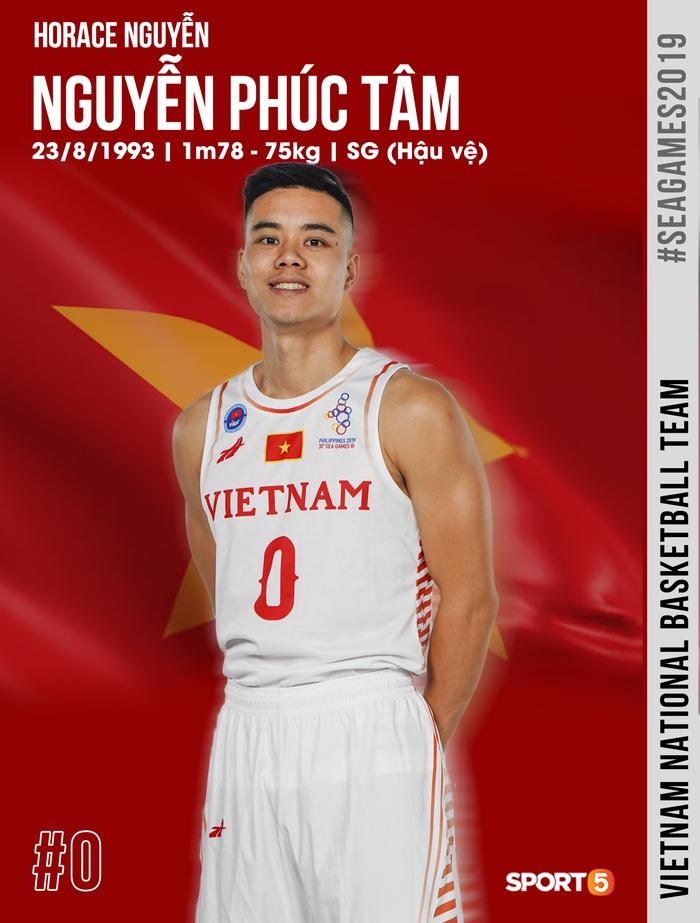 Danh sách chính thức 12 cầu thủ tuyển bóng rổ Việt Nam tham dự SEA Games 30: HLV Kevin Yurkus loại ngôi sao nào? - Ảnh 7.