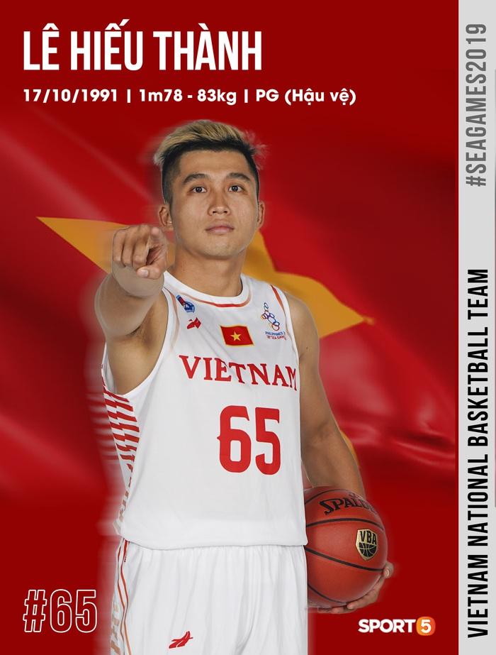 Danh sách chính thức 12 cầu thủ tuyển bóng rổ Việt Nam tham dự SEA Games 30: HLV Kevin Yurkus loại ngôi sao nào? - Ảnh 9.