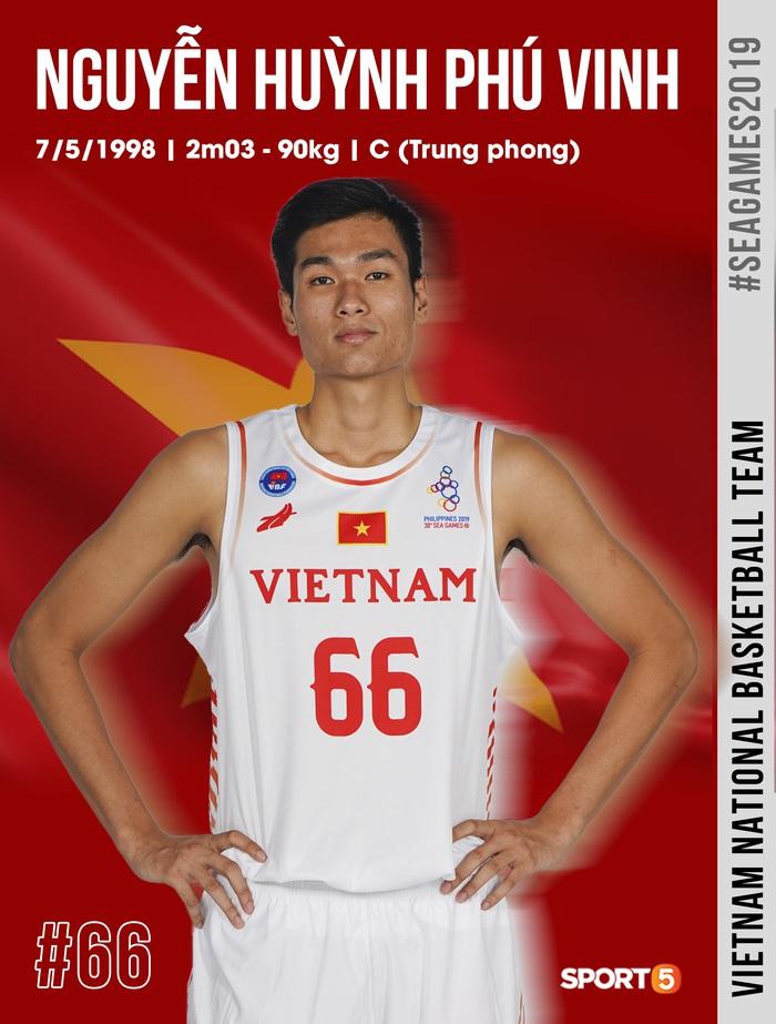 Danh sách chính thức 12 cầu thủ tuyển bóng rổ Việt Nam tham dự SEA Games 30: HLV Kevin Yurkus loại ngôi sao nào? - Ảnh 11.