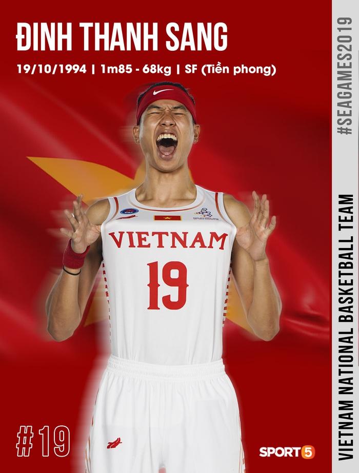 Danh sách chính thức 12 cầu thủ tuyển bóng rổ Việt Nam tham dự SEA Games 30: HLV Kevin Yurkus loại ngôi sao nào? - Ảnh 5.