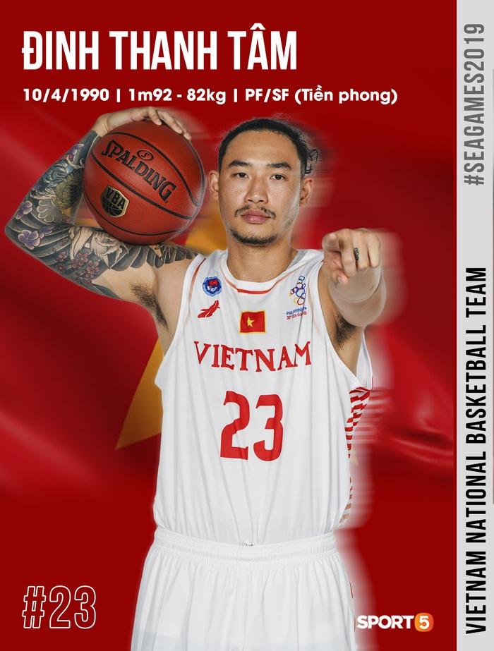 Danh sách chính thức 12 cầu thủ tuyển bóng rổ Việt Nam tham dự SEA Games 30: HLV Kevin Yurkus loại ngôi sao nào? - Ảnh 1.