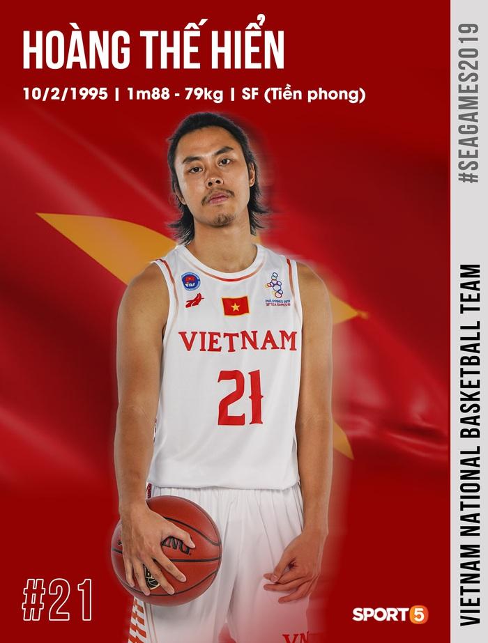 Danh sách chính thức 12 cầu thủ tuyển bóng rổ Việt Nam tham dự SEA Games 30: HLV Kevin Yurkus loại ngôi sao nào? - Ảnh 12.