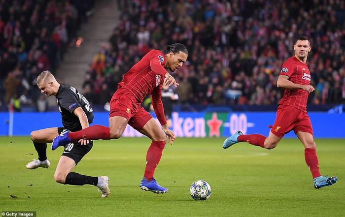 Liverpool giành quyền vào vòng 16 đội Cúp C1 sau thắng lợi thuyết phục trên đất Áo - Ảnh 7.