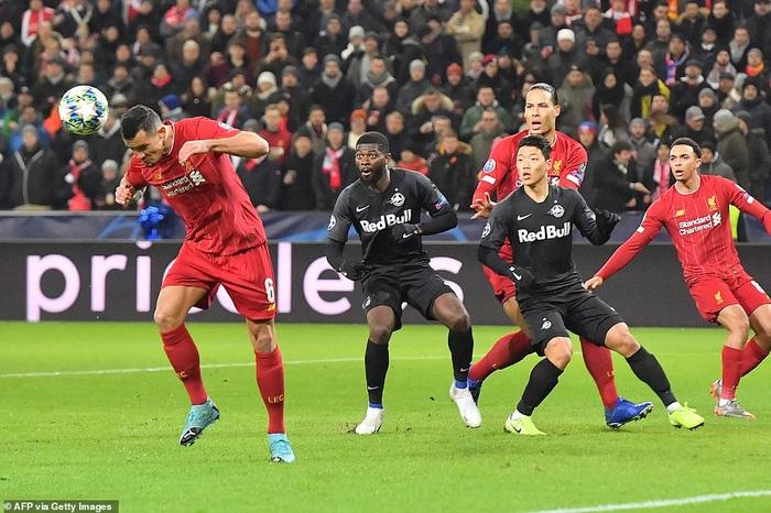 Liverpool giành quyền vào vòng 16 đội Cúp C1 sau thắng lợi thuyết phục trên đất Áo - Ảnh 1.