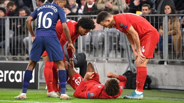 """Chấn thương """"kinh hoàng"""" của Kingsley Coman trong trận đấu giữa Bayern Munich và Tottenham Hotspur - Ảnh 2."""