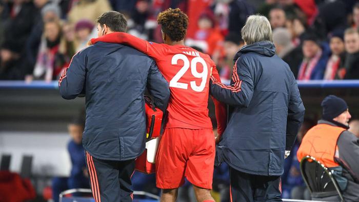 """Chấn thương """"kinh hoàng"""" của Kingsley Coman trong trận đấu giữa Bayern Munich và Tottenham Hotspur - Ảnh 3."""