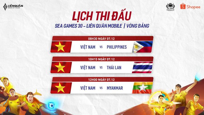 Lịch thi đấu Liên Quân Mobile tại SEA Games: Thời khắc lịch sử đã điểm! - Ảnh 2.